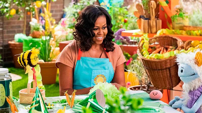 Waffles y Mochi: la nueva serie culinaria de Netflix con Michelle Obama