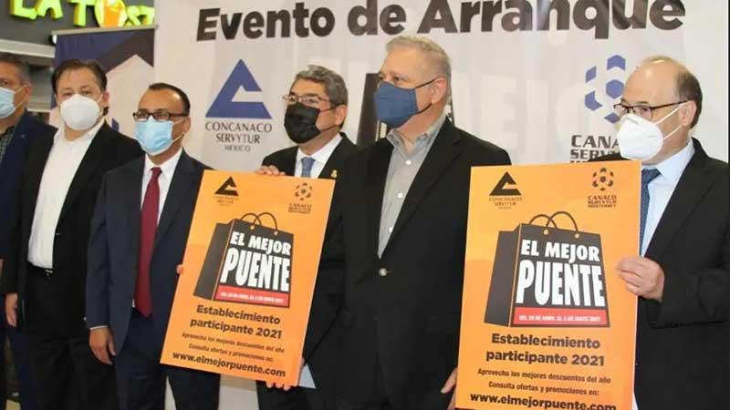 """Monterrey arranca """"El Mejor Puente"""" con la participación de 6,000 establecimientos"""
