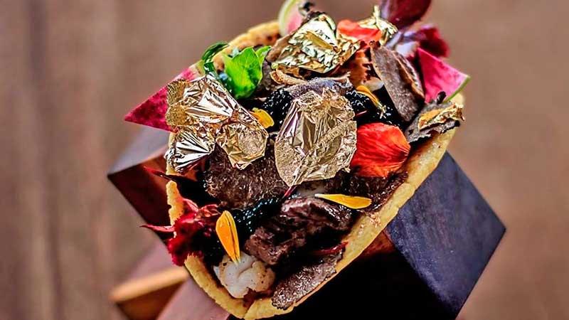 Este es el taco más caro del mundo; lo venden en uno de los destino turístico más famosos de México