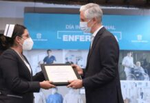 Reconocen la labor que realizan enfermeras y enfermeros mexiquenses para combatir la pandemia por Covid-19