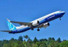 El modelo 737 MAX más grande de Boeing despegó en su vuelo inaugural